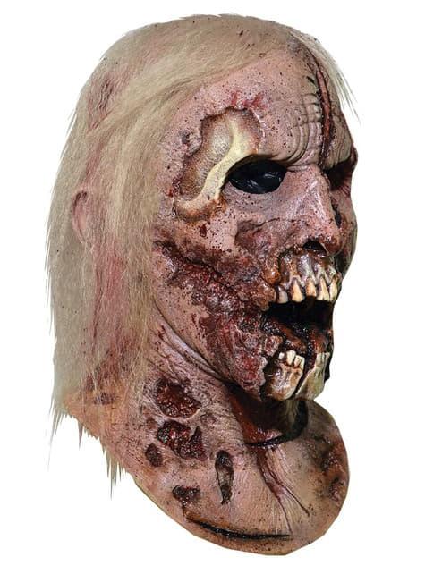 Máscara Zombie caminante The Walking Dead - para tu disfraz