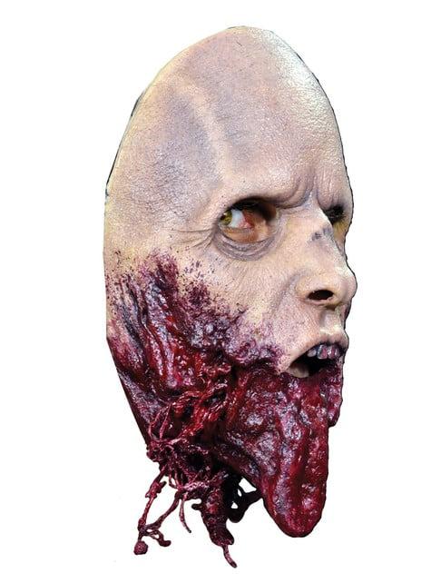 Máscara caminante sin mandíbula The Walking Dead - para tu disfraz