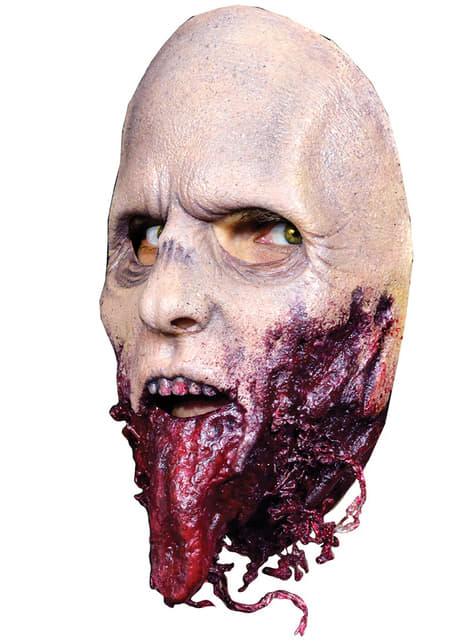 Máscara caminante sin mandíbula The Walking Dead - original