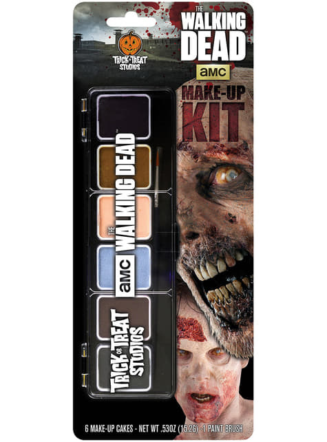 Kit de maquillaje de caminante The Walking Dead