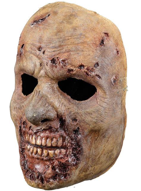 Máscara de caminante podrido zombie The Walking Dead - para tu disfraz