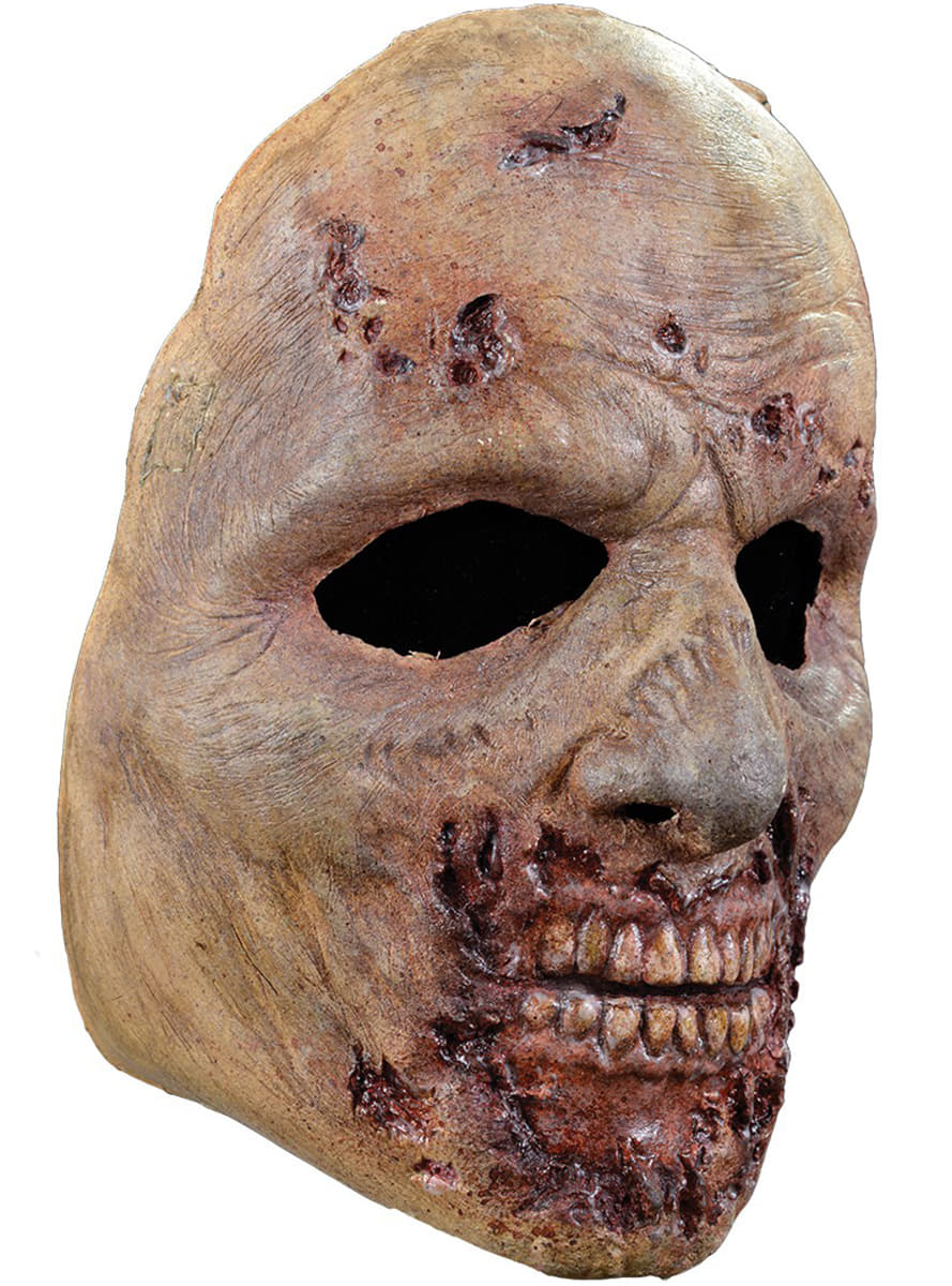 The Walking Dead Rotten Zombie Mask The Coolest Funidelia