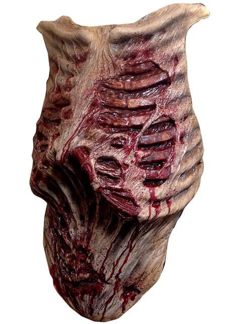 Prótesis zombie para el pecho The Walking Dead - para tu disfraz