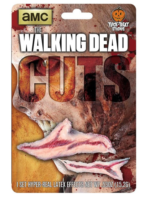 The Walking Dead Bleeding Cuts Latex Prosthesis