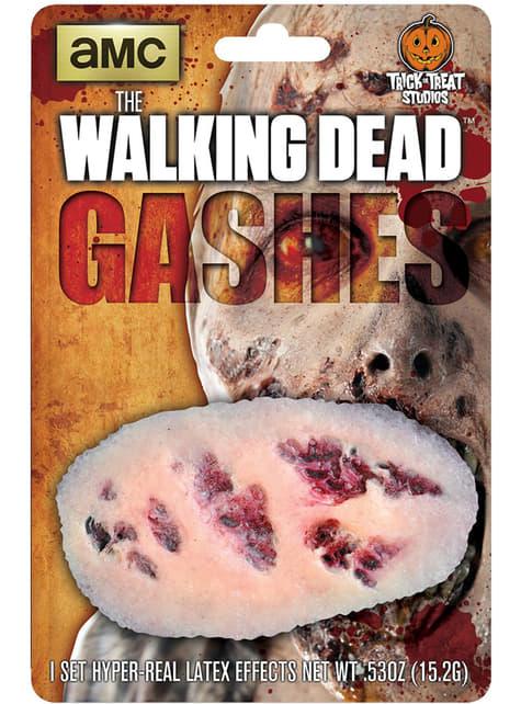 Το Περπάτημα Dead Αιμορραγία Ξύνεται Λατέξ Προσθετική