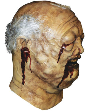 Masque de zombie du puit The walking Dead