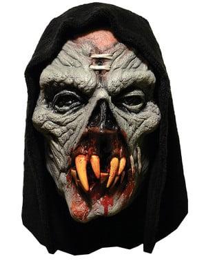 Máscara de monstro devora homens