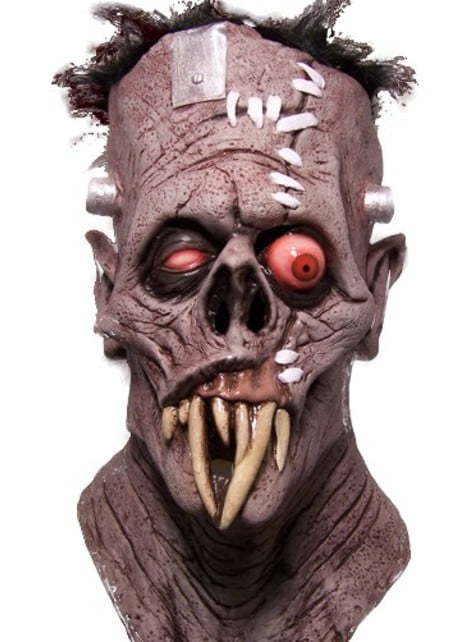 Máscara de Gruesome cara cortada