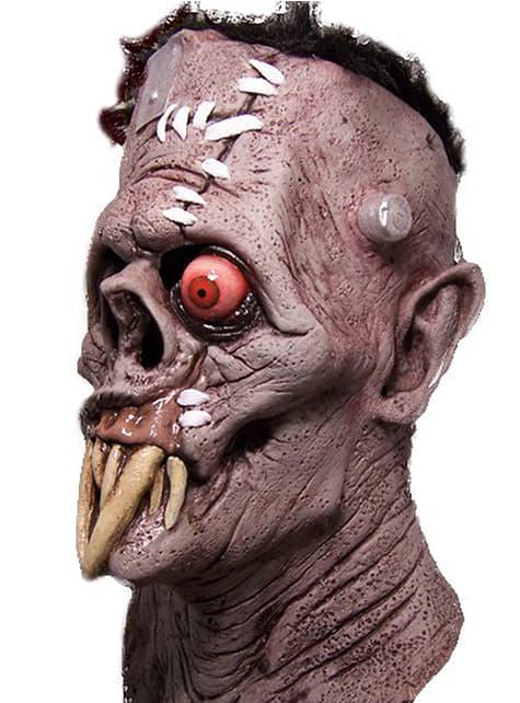 Máscara de Gruesome cara cortada - para tu disfraz