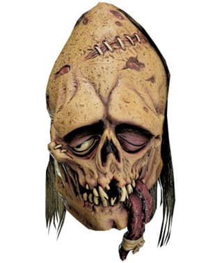 Zombie med knuten tunga Mask