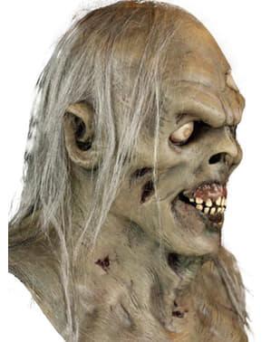 Máscara de zombie do pântano