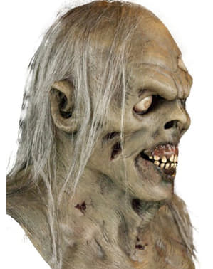 Maska zombie ze stawu