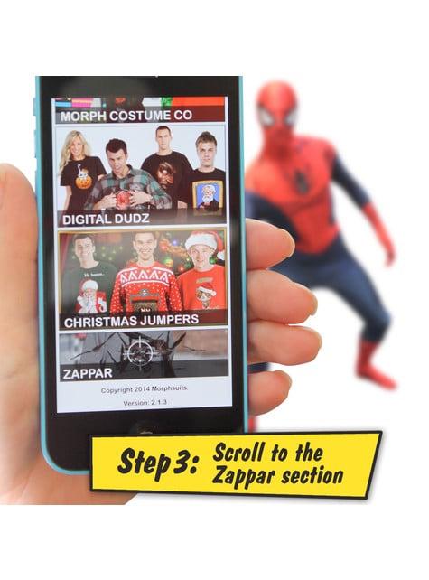Disfraz de Spiderman Morphsuit - Carnaval