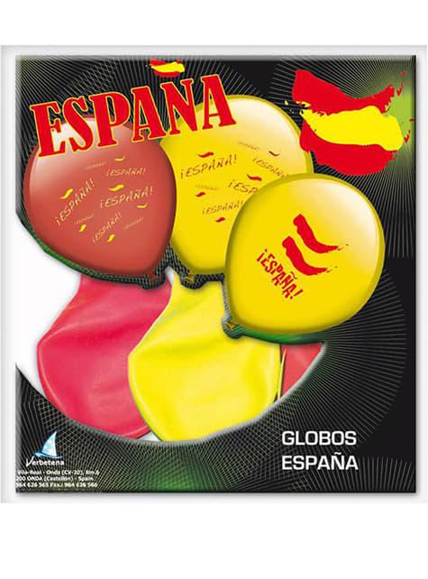 8 balões Espanha