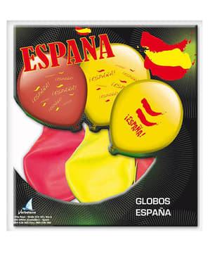 Sett med Spania-Ballonger