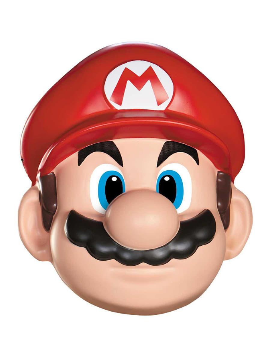 Máscara de Mario Bros para adulto. Entrega 24h  f0dfe8e5276