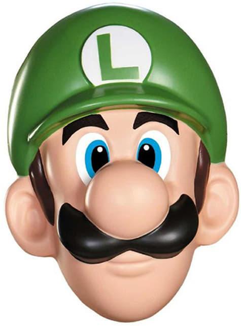 Luigi masker voor volwassenen