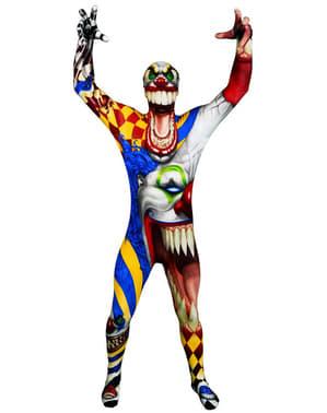 Déguisement de clown maléfique Monster Collection Morphsuit
