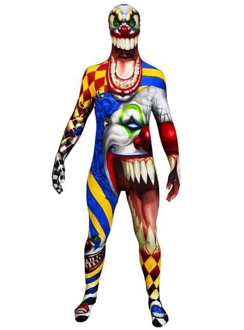 Klovn Monster Samling Morphsuit Kostyme Voksen