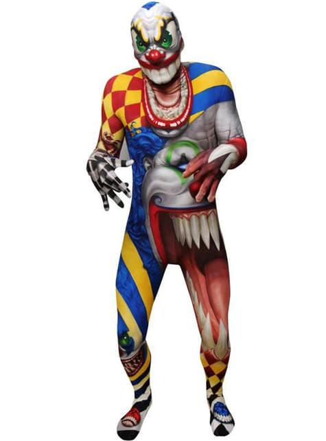 Přiléhavý oblek pro dospělé klaun Monster Collection