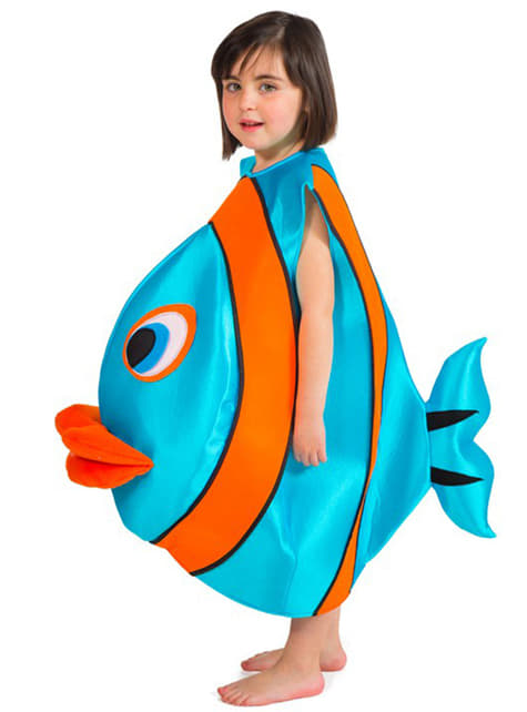 Fish costume for a child