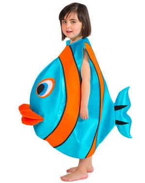 Fato de peixe infantil