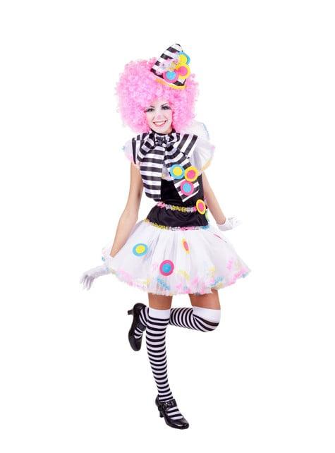 Dámský kostým výjimečný klaun