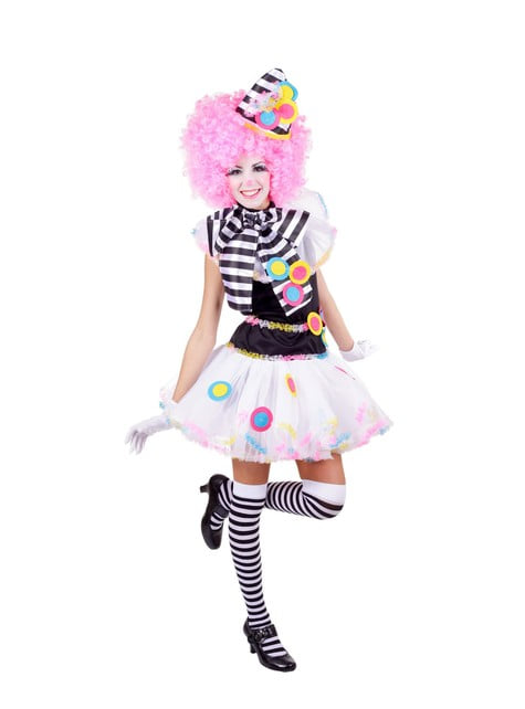 Special clown costume for a woman
