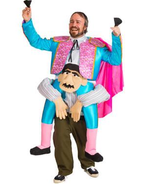 Torero auf den Schultern Kostüm für Männer