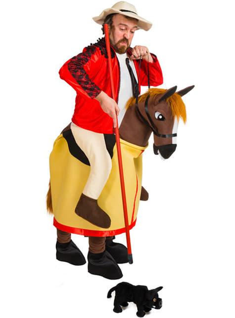 Berijder te paard bij stierenvechten Kostuum voor volwassenen