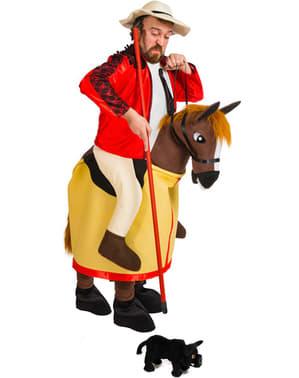 Kostium ujeżdżacz koni dla dorosłego