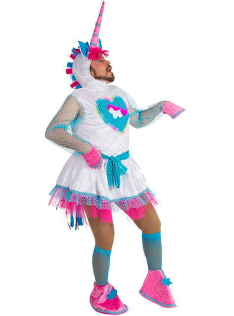 Unicorn costume for an adult