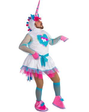 Costum de unicorn pentru adult