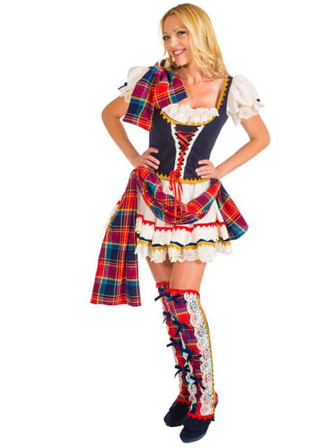 Fato de escocesa para mulher