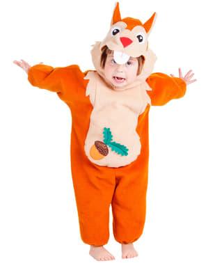 Costum de veveriță pentru bebeluși