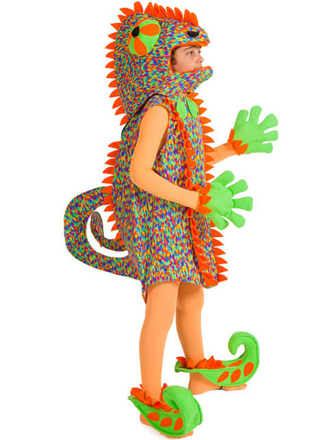 Chamäleon Kostüm für Jungen