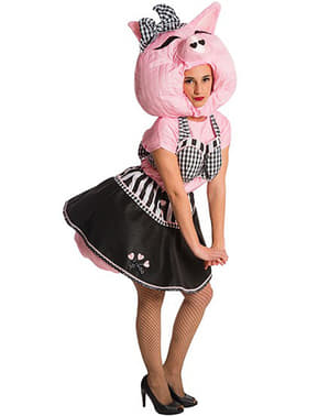 Pig Up costume for a woman