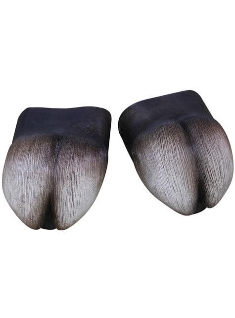 Lateksiset sorkanmuotoiset kengän päälliset