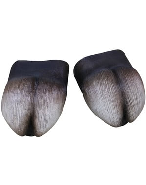 Hove skoovertræk af latex