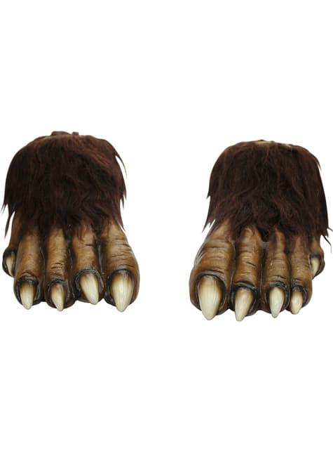 Ulve fødder af latex