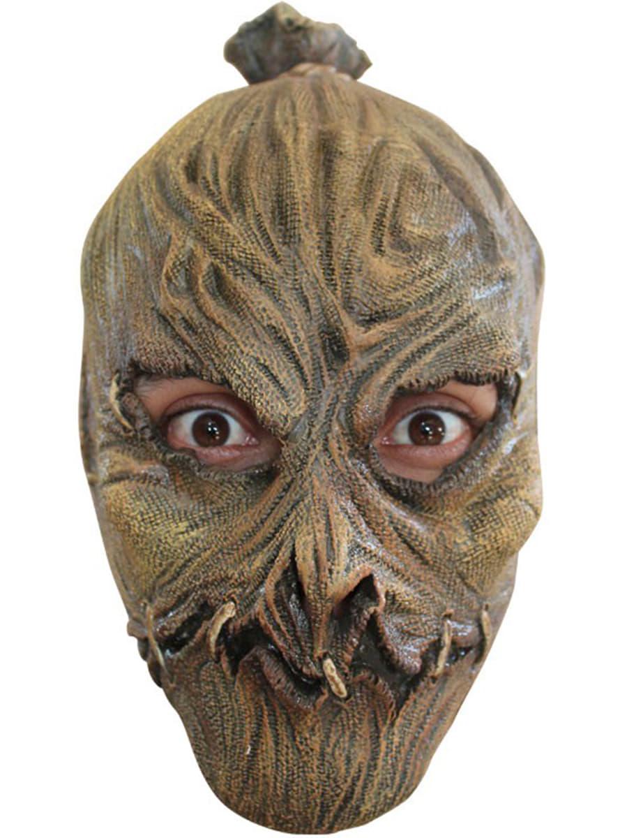 Latex Halloween Scarecrow Mask For Children Shop Online Funidelia
