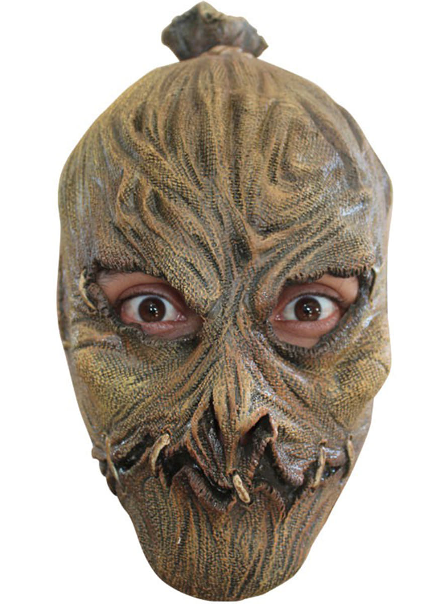 masque halloween pouvantail latex enfant pour d guisement funidelia. Black Bedroom Furniture Sets. Home Design Ideas