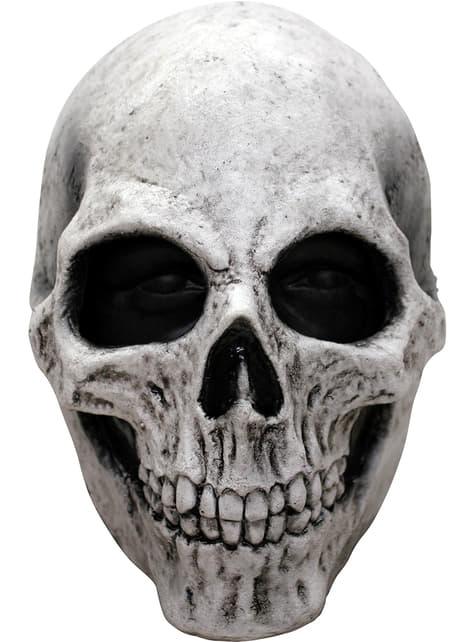 Λευκή μάσκα κρανίο latex