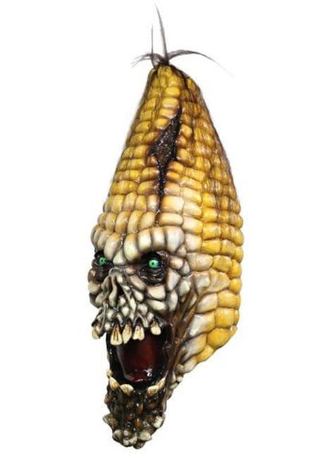 Máscara de maíz diabólico de látex
