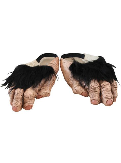 Pies de chimpancé