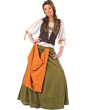 Mittelalterliche Wirtn Kostüm Agnes