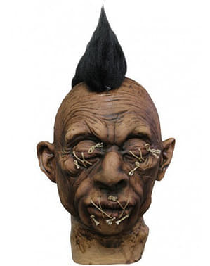 Latex Shrunken Head with Mohican