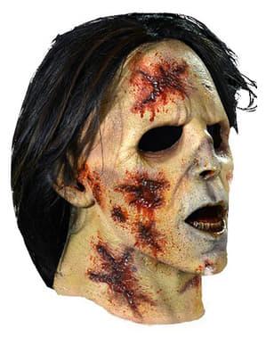 Maske Zombie mit Anzug The Walking Dead
