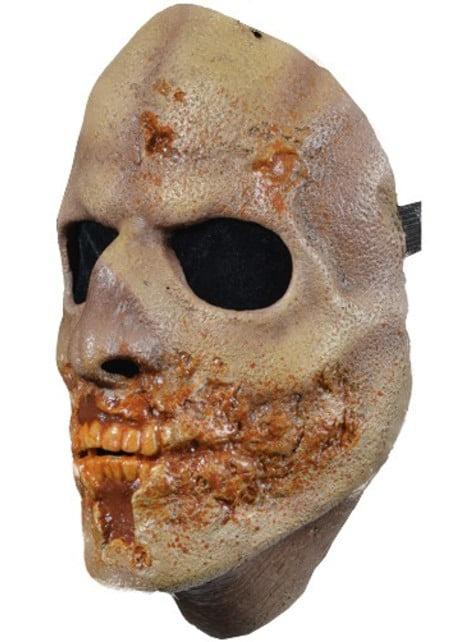 Máscara de caminante aterrador The Walking Dead - para tu disfraz