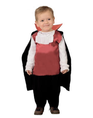Drakula dräkt till bebis